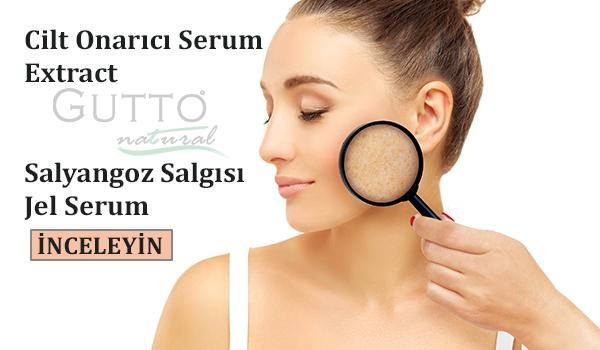 Gutto salyangoz salgısı jel serum - Cilt onarıcı serum